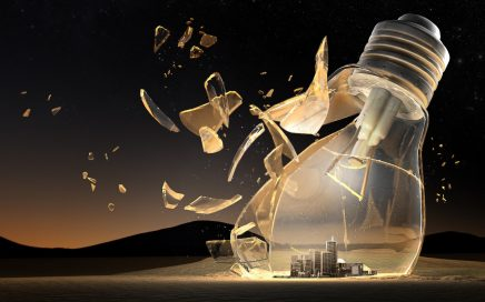 broken-light-bulb-and-city-in-sand-mountain-at-night